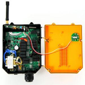 天井クレーン ホイスト チェンブロック ユニックの無線化